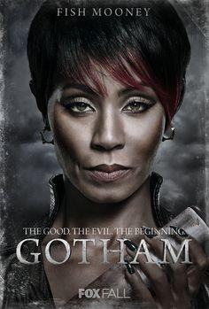 "Gotham S1 Jada Pinkett Smith as ""Fish Mooney"""