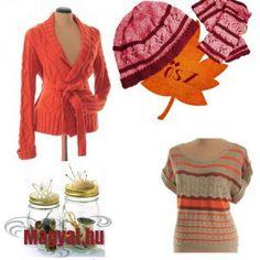 Őszi divat - Narancs, tök, kötött Fashion, Moda, Fashion Styles, Fashion Illustrations