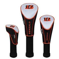 McArthur Sports NFL Golf Headcover Matching System - Cincinnati Bengals