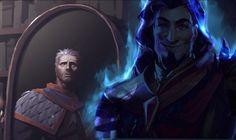 """Just open the damn book Khadgar!"" #worldofwarcraft #blizzard #Hearthstone #wow #Warcraft #BlizzardCS #gaming"
