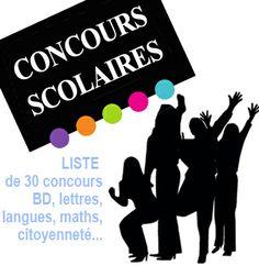 Concours scolaires 2013-2014 pour mobiliser vos élèves de primaire, de collège et de lycée. |