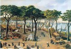 Cándido López, pintor y soldado argentino. Registraba momentos de la guerra de la Triple Alianza en Paraguay hasta que debió perder su mano hábil en batalla. De regreso, y para culminar gran parte de sus 90 bocetos, debió entrenar su mano izquierda.