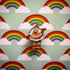 Rainbow Brite Twink enamel pin