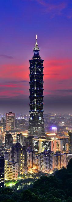 Tower 101, 509m, 2003, Taipei, Taiwán