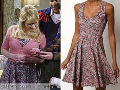 BIg Bang Theory: Season 9 Episode 6 Bernadette's Floral Print Dress
