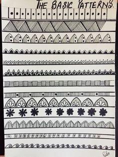 Zentangle patrones