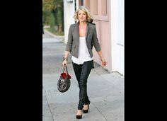 leather pants. always a good choice.