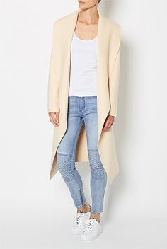 Grid Stitch Jeans#WITCHERYSTYLE
