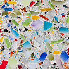 GAFunkyFarmhouse: Wish List Wednesdays: Vetrazzo Millefiori Recycled Glass Countertop