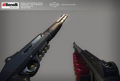 Michael Vicente / 3D modeler / environment artist | BENELLI M4 Super 90 M1014