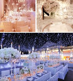 White Winter Weddings | Lake Tahoe Wedding Inspiration. Bottom pic is still my fav   Thinking winter for sure!