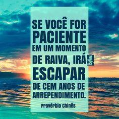 "@instabynina's photo: ""Sábio provérbio! Bom dia!!! #frases #citações #paciência #instabynina"""