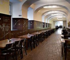 Lokal, beer and Czech food hall