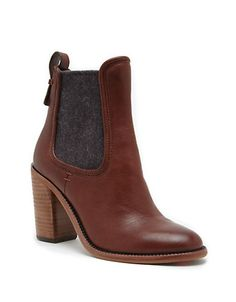 beb9e08296ac The classic Chelsea boot gets an equestrian makeover in leather with  elasticized gores. New Shoes