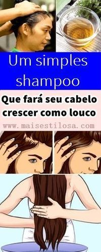 One Simple Shampoo Which Will Make Your Hair Grow Like Crazy Beautiful hairs add to your personality and make you look more attractive. It is always a prominent element in the beauty of a woman. Simple Shampoo, Shampoo Natural, Healthy Scalp, Get Healthy, Healthy Hair, Make Hair Grow, How To Make Hair, Homemade Shampoo, Hair Grow Faster