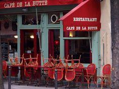 Brasserie, Montmartre - Vicki Archer