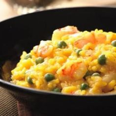 SHRIMP AND PEA RISOTTO and other Healthy mood elevating recipes