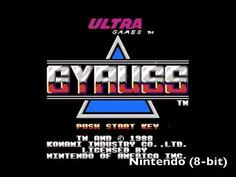 Gyruss - Classic carts back to back / Mark plays.... (SD) - Gyruss is a very nice shmup that is very similar to Galaga and Galaxian only with a conical/wrapping screen lay out and some fancy emulated ' scaling' effects creating a 3D look.