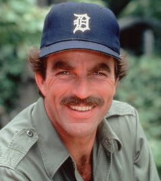Tom Selleck, born in Detroit, and wearing the D