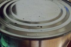 Rusting Can - canned food gone bad - Food Storage - Preppers Survive