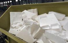Máquinas GreenMax para el Reciclaje de Residuos espuma de poliestireno