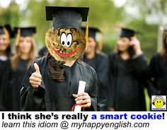 Are you very intelligent and clever? Are you good and quick at solving problems? If so, then I'd say that you are a smart cookie! The idiom to be a smart cookie means...