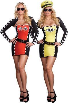 women's costume: drive me crazy reversible