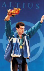 Kakhi Kakhiasvili Weightlifting Olympic Winners, Weightlifting, Olympics, Greek, Film, Movie, Weight Lifting, Film Stock, Cinema