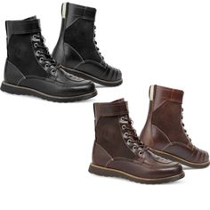 Rev'It Royale Motorcycle Boots    http://www.ghostbikes.com/products/20162-rev-it-royale-motorcycle-boots.html    The Rev-It Royale Motorcycle Boots are another perfectly disguised item of motorcycle apparel. They provide all the protective features a rider could need out of a motorcycle boot- all while looking like a trendy leather high-top shoe.