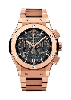 Classic Fusion Aero King Gold Bracelet Chronograph watch from Hublot