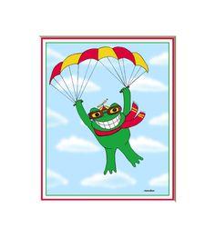 Frog art for kids frog pictures frog by HamiltonArtandDesign
