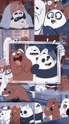 Wallpaper Space, Bear Wallpaper, Wallpaper Iphone Cute, Galaxy Wallpaper, Disney Wallpaper, Cartoon Wallpaper, We Bare Bears Wallpapers, Cute Wallpapers, 3 Bears