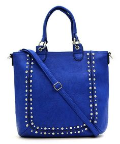 Take a look at this Royal Blue Theresa Tote on zulily today!