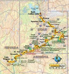 Salt Lake to Las Vegas by bike
