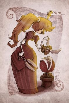 Princess Peach by Nuttirius
