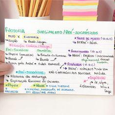 FILOSOFIA - PRÉ-SOCRÁTICOS  - 1