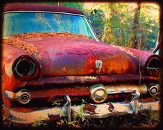 Items similar to Automotive Art - Garage Art - Bobby Joe - Rusty Old Truck - Old Ford Truck - Fine Art Photograph by Kelly Warren on Etsy Ford Classic Cars, Classic Chevy Trucks, Car Ford, Ford Trucks, Ford Obs, Pickup Trucks, Lifted Trucks, Chevrolet Impala, Pop Art