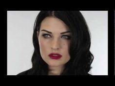 Megan Fox Cat Eyes / Liner for narrow or small eyes.