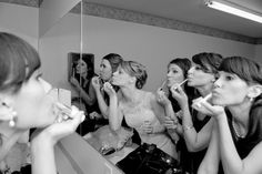 Pictures of the things you don't necessarily remember but make the wedding perfect...my girls and I getting ready is a must have.