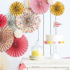 Paper Fans, Pinwheels, Party Fans, Pinwheel Backdrop, Wedding Decor, Photo Backdrop, Party Rosettes, Baby Shower