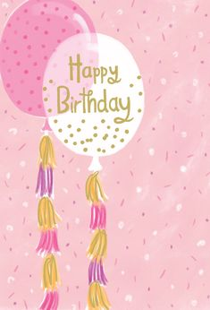 Balloons Birthday Card Confetti Pictura USA Outside Text: Happy Birthday Inside text: Hip hip hooray! Refinements: Foil, Glitter 0012.61151 Cute Happy Birthday Pictures, Happy Birthday Notes, Funny Happy Birthday Wishes, Happy Birthday Cake Topper, Birthday Love, Happy Birthday Greetings, Birthday Images, Happy Birthday Illustration, Bday Cards
