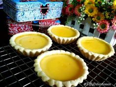 Tiffy Delicatessen: Hong Kong Golden Egg Tarts