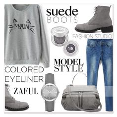 """""""www.zaful.com/?lkid=7011"""" by lucky-1990 ❤ liked on Polyvore featuring moda, Urban Decay, Burberry y zaful"""