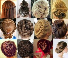 Different hairstyles shared by Aurino on We Heart It Different Hairstyles, Unique Hairstyles, Pretty Hairstyles, Braided Hairstyles, Wedding Hairstyles, Mixed Hairstyles, Summer Hairstyles, Chignon Headband, Corte Y Color