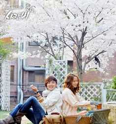 Love Rain ! This dramas story line is really interesting. Im Yoon Ah and Jang Keun-Suk really made a cute pair and did an amazing job putting this drama on the charts for me!