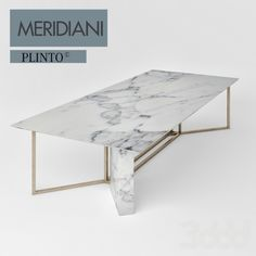 Meridiani marble table