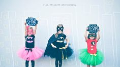 Super hero Trio!  Halloween Costumes