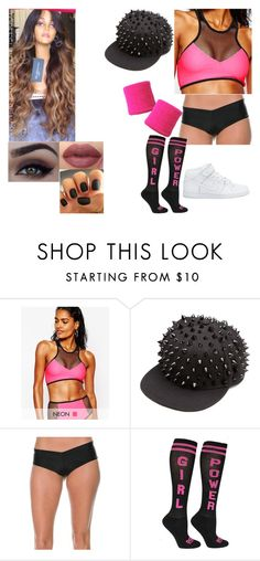 """""""WWE"""" by maya-sa ❤ liked on Polyvore featuring Jaded London, Lolli Swim and NIKE"""