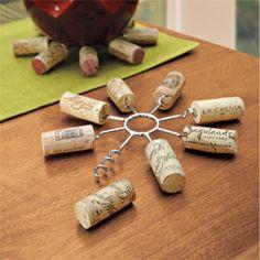 Wine Cork Trivet, Reuse Wine Corks | Solutions