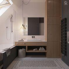 Проект интерьера двухэтажного дома в агрогородке Колодищи, для молодой семейной пары в современном скандинавском стиле.
